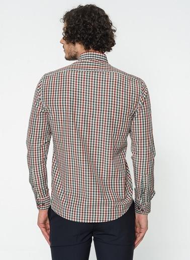 Slim Fit Ekose Gömlek-Altınyıldız Classics